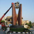 Bahria Town Islamabad tower clock